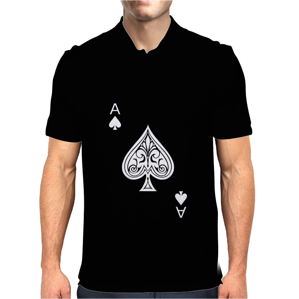Ace of Spades Mens Polo