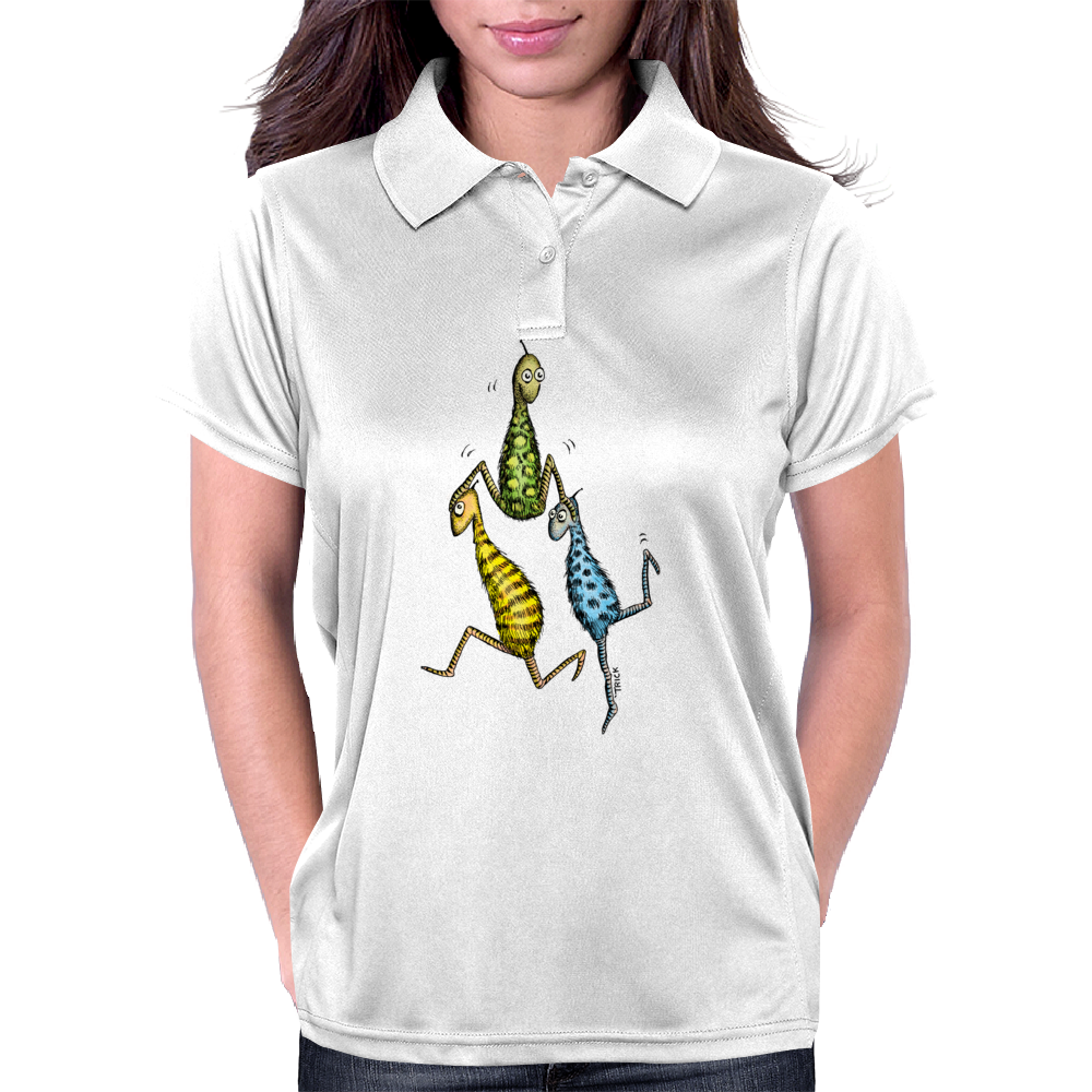 Acrobatic Whats-Its Womens Polo