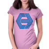 Action Film Logo Cannon Womens Fitted T-Shirt
