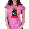 Actual Fact Fresh Prince Throne Will Smith Womens Fitted T-Shirt
