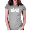AD HD Womens Fitted T-Shirt