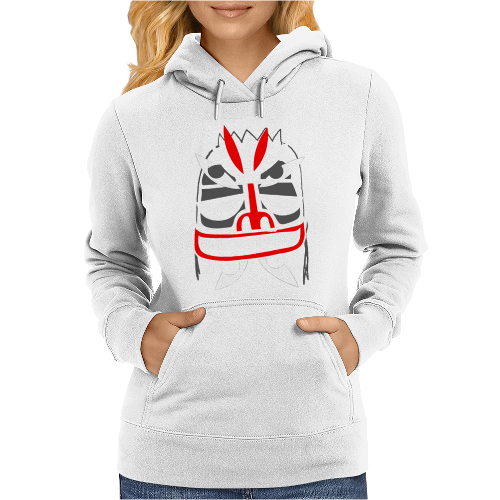Addict X Mysterious Al Mask Womens Hoodie