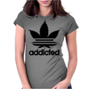 Addicted, Addidas Womens Fitted T-Shirt