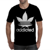 Addicted, Cannabis, Marijuana Mens T-Shirt