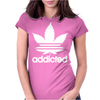 Addicted, Cannabis, Marijuana Womens Fitted T-Shirt