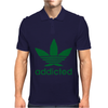 Addicted ~ Mens Funny Mens Polo