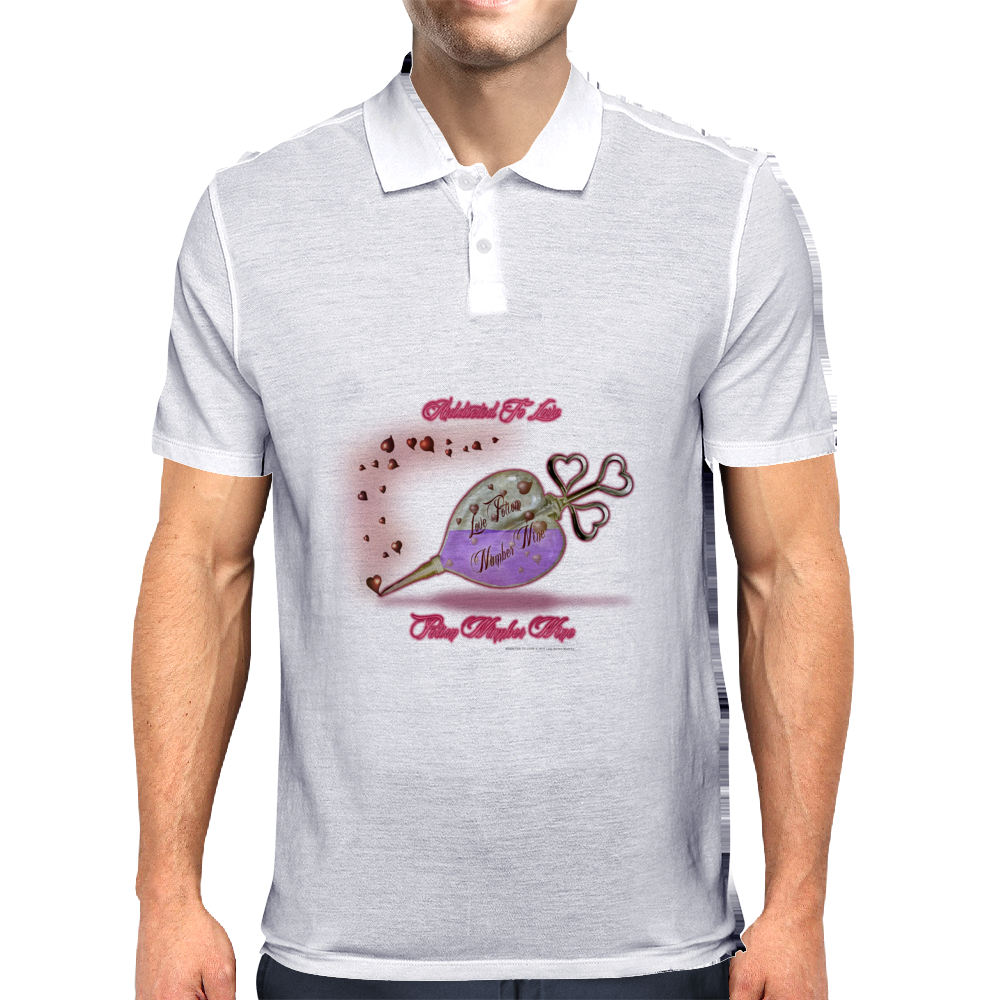 ADDICTED TO LOVE POTION NUMBER 9 Mens Polo