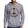Adesivo Peace No Worries & Shocker Mens Hoodie