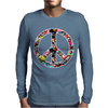 Adesivo Peace No Worries & Shocker Mens Long Sleeve T-Shirt