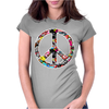 Adesivo Peace No Worries & Shocker Womens Fitted T-Shirt