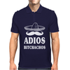 Adios Bitchachos Mens Polo
