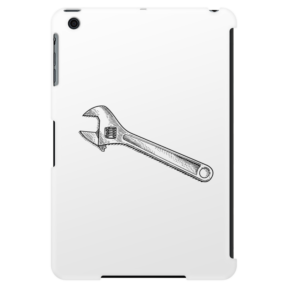 Adjustable wrench art Tablet (vertical)