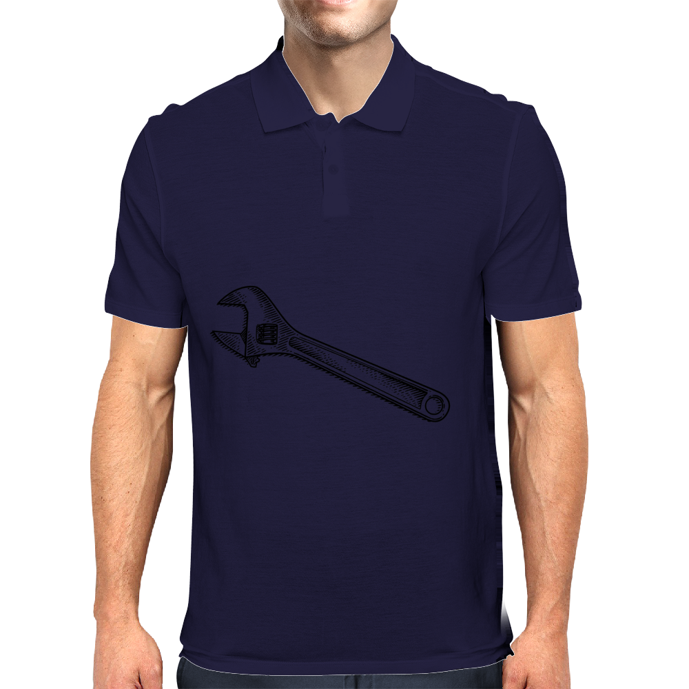 adjustable wrench Mens Polo