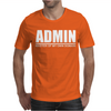 Admin Master Of My Own Domain Mens T-Shirt
