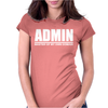 Admin Master Of My Own Domain Womens Fitted T-Shirt