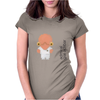 Admiral Gial Ackbar (white) Womens Fitted T-Shirt
