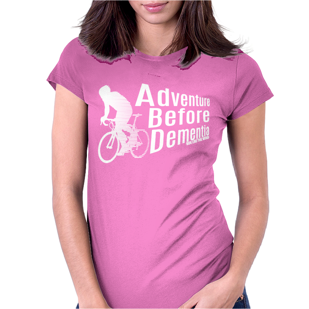 Adventure Before Dementia 4 Womens Fitted T-Shirt