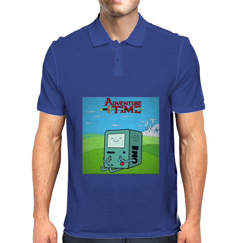 Adventure Time: BMO Mens Polo