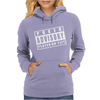 Advisory Poker Player On Tilt Womens Hoodie