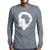 Africa Centered Mens Long Sleeve T-Shirt