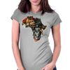 Africarte 2 Womens Fitted T-Shirt