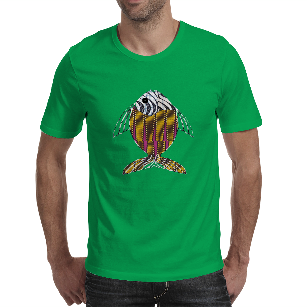 Afrique Fish Mens T-Shirt