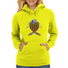 Afrique Fish Womens Hoodie