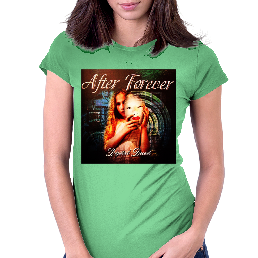 AFTER FOREVER Womens Fitted T-Shirt