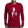 Agent Cooper Twin Peaks Inspired Mens Long Sleeve T-Shirt
