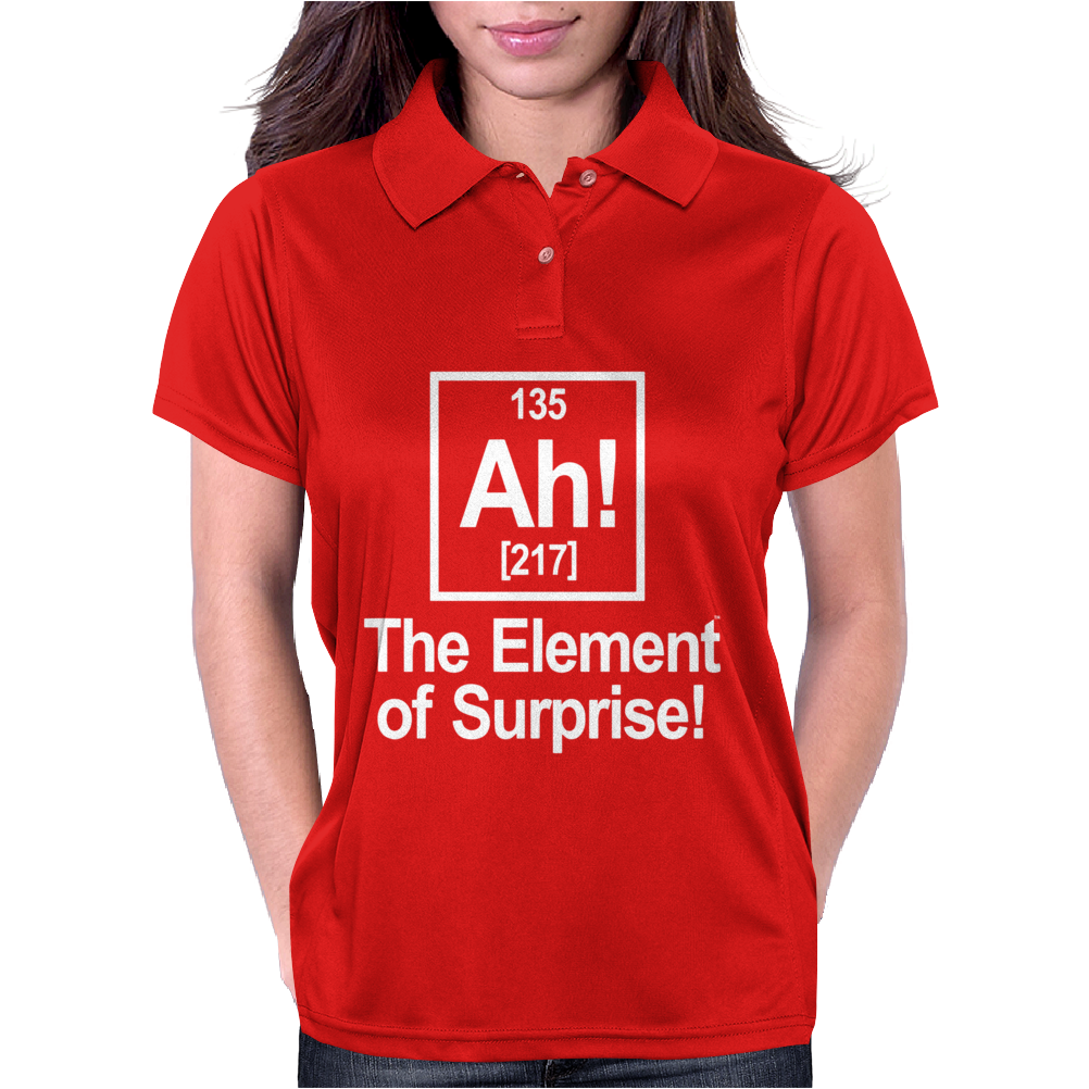 Ah Element Of Suprise Womens Polo