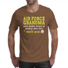 AIR FORCE GRANDMA SOME PEOPLE DREAM OF MEETING THEIR HERO I SPOILED MINE Mens T-Shirt
