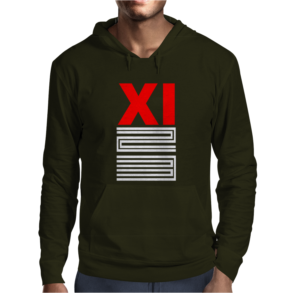 Air J Js Retro Bred 11 Xi Shoes Matching Mens Hoodie