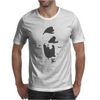 Airbrushed Stencil Mens T-Shirt