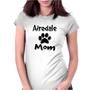 Airedale Mom Womens Fitted T-Shirt