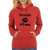 Airedale Mom Womens Hoodie