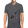 AK-47 and Bushmaster AR-15 rifles Mens Polo