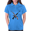AK-47 and Bushmaster AR-15 rifles Womens Polo