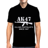 AK47 funny,political,weapons,cool,retro,rude Mens Polo