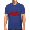 Akira Inspired Bike Motorbike Mens Polo