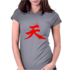 Akuma's Kanji Womens Fitted T-Shirt