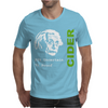 Albert Einstein Theory of 7% Proof Geeky Science Cider Scrumpy Drinking Mens T-Shirt
