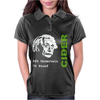 Albert Einstein Theory of 7% Proof Geeky Science Cider Scrumpy Drinking Womens Polo