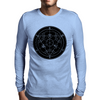 Alchemy Circle Black Mens Long Sleeve T-Shirt