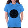 Alchemy Circle Black Womens Polo