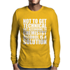Alcohol_Is_A_Solution-Funny_T_Shirt_Geek_Science_Alcohol_Shirt_Party_Beer_Tee1 Mens Long Sleeve T-Shirt