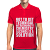 Alcohol_Is_A_Solution-Funny_T_Shirt_Geek_Science_Alcohol_Shirt_Party_Beer_Tee1 Mens Polo