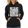 Alcohol_Is_A_Solution-Funny_T_Shirt_Geek_Science_Alcohol_Shirt_Party_Beer_Tee1 Womens Hoodie