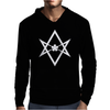 Aleister Crowley Unicursal Hexagram Mens Hoodie