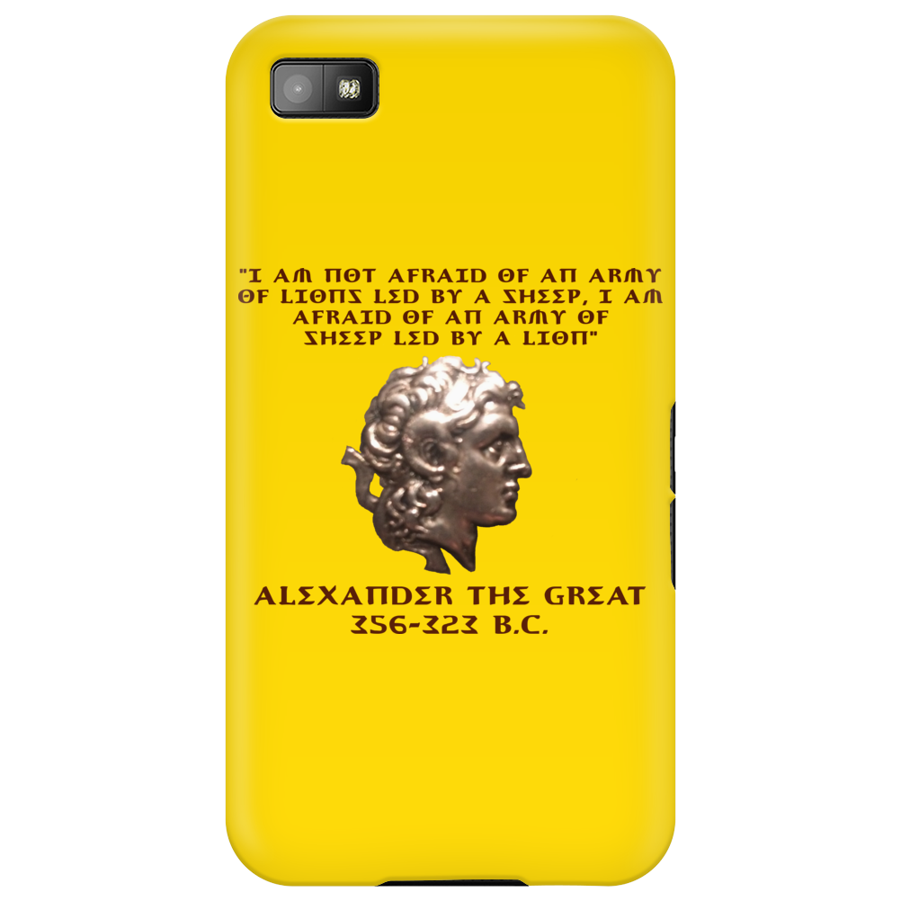 Alexander the Great Phone Case
