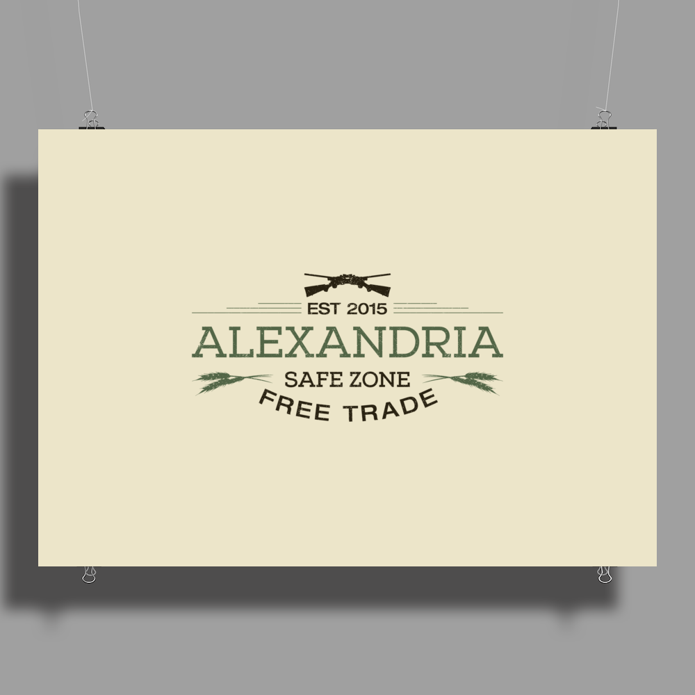Alexandria Free Trade Poster Print (Landscape)